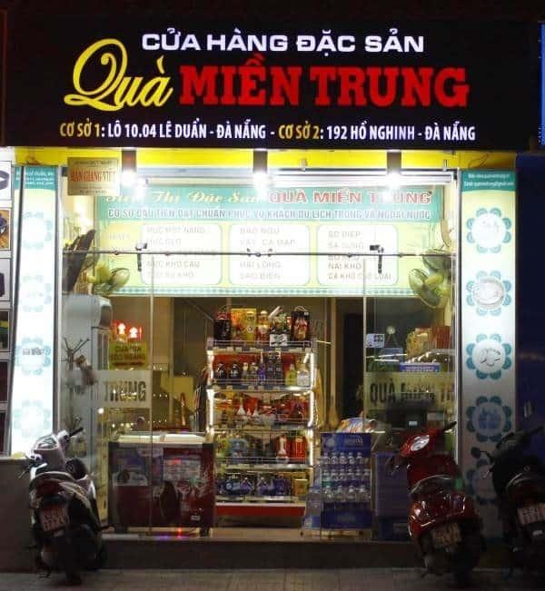 Địa chỉ mua đặc sản Đà Nẵng về làm quà uy tín, chất lượng. Mua đặc sản Đà Nẵng về làm quà ở đâu?