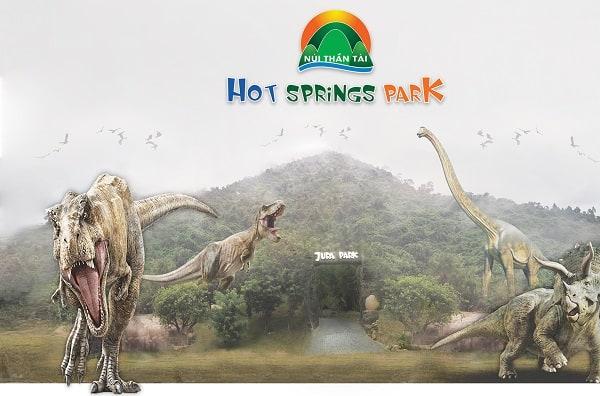 Kinh nghiệm du lịch Núi Thần Tài: Địa điểm tham quan ở suối khoáng nóng Núi Thần Tài