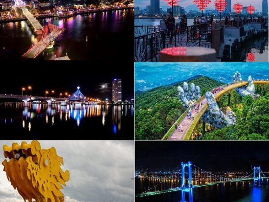 Những cây cầu ở Đà Nẵng có kiến trúc độc đáo: 7 cây cầu nổi tiếng ở Đà Nẵng