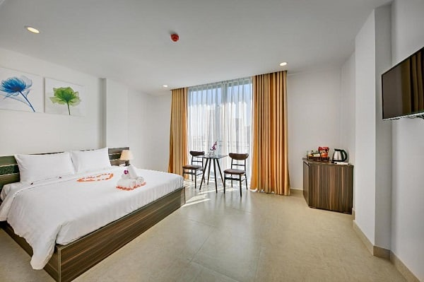 Khách sạn 2 sao Đà Nẵng gần biển Mỹ Khê giá rẻ: Gần biển Mỹ Khê Đà Nẵng có khách sạn nào đẹp, giá bình dân?
