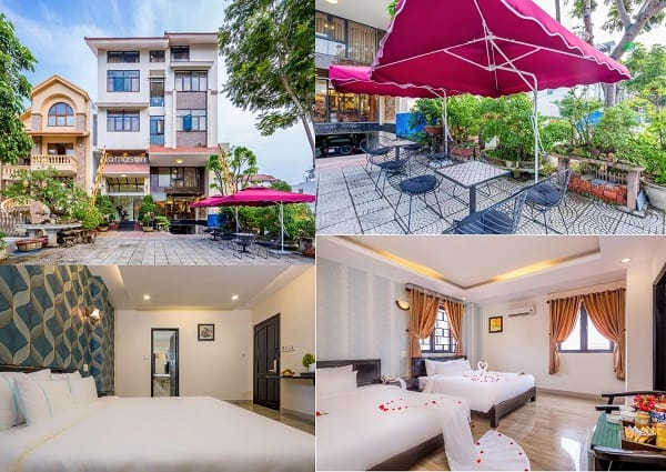 Khách sạn 3 sao gần biển Mỹ Khê Đà Nẵng giá rẻ