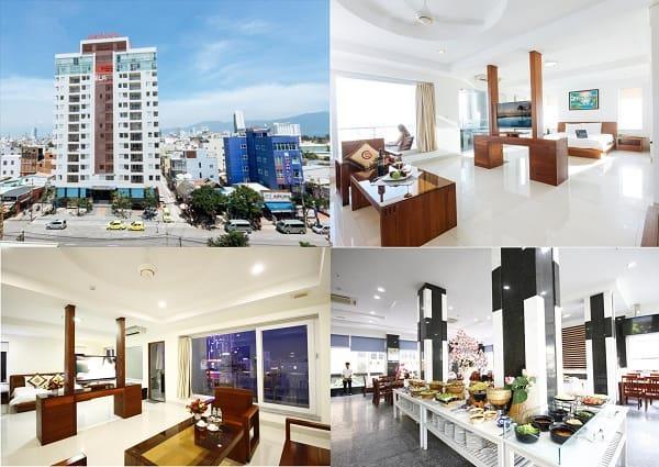 Khách sạn 3 sao gần biển Mỹ Khê Đà Nẵng: Gần biển Mỹ Khê có khách sạn 3 sao nào đẹp?