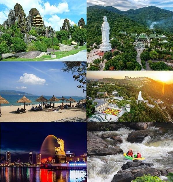 Du lịch Đà Nẵng từ Cần Thơ nên đi đâu chơi?