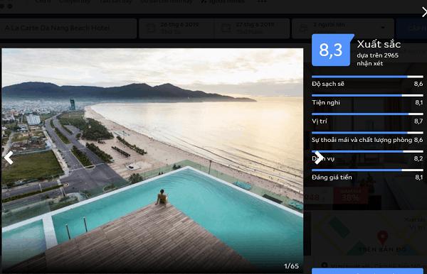 Khách sạn 4 sao ở Đà Nẵng gần biển Mỹ Khê chất như nước cất. Du lịch Đà Nẵng nên thuê khách sạn gần biển Mỹ Khê 4 sao nào tốt, rẻ?
