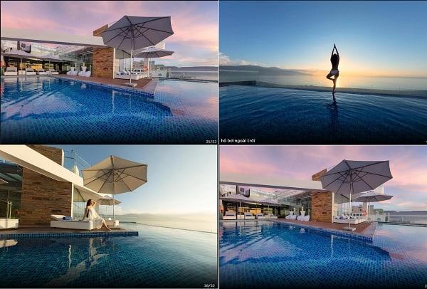Khách sạn ở Đà Nẵng có bể bơi đẹp nhất. Khách sạn có hồ bơi ngoài trời ở Đà Nẵng đẹp nhất