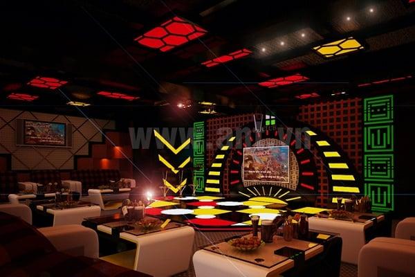 Quán Karaoke VIP - quán karaoke có âm thanh và ánh sáng hiện đại ở Đà Nẵng
