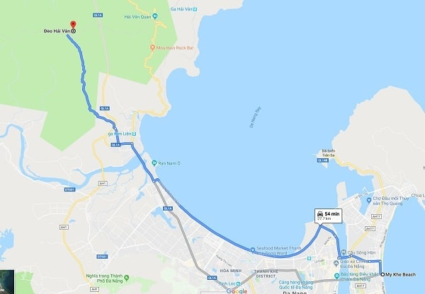 Hướng dẫn đường đi chinh phục đèo Hải Vân: Kinh nghiệm phượt đèo Hải Vân