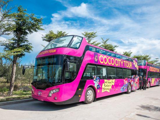 Review thông tin xe bus 2 tầng ở Đà Nẵng lịch trình, giá vé. Hướng dẫn tham quan Đà Nẵng bằng xe bus 2 tầng cụ thể, chi tiết.