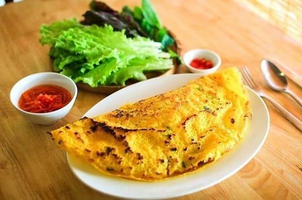 Bánh xèo Bà Dưỡng/ quán bánh xèo bán buổi trưa ở Đà Nẵng