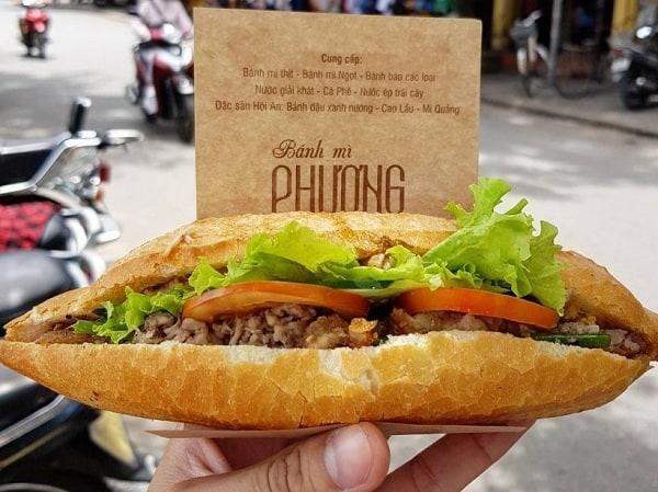 Bánh mì Phượng - quán bánh mì nổi tiếng ở Đà Nẵng, Hội An