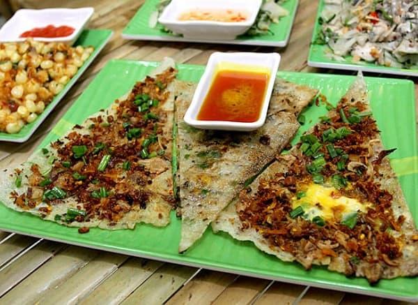 Địa chỉ ăn bánh tráng kẹp ngon nhất Đà Nẵng