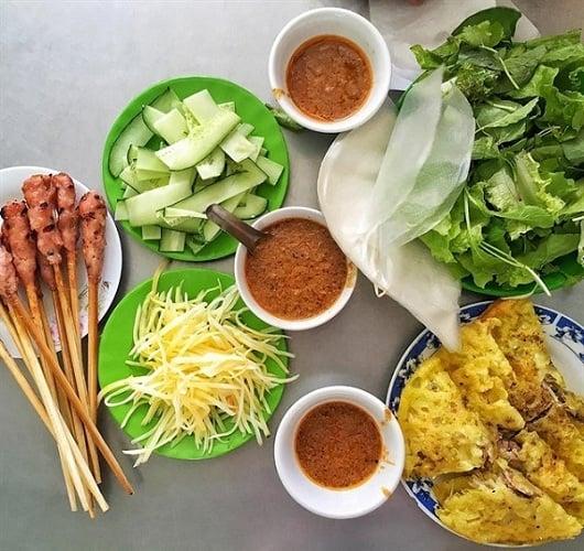 Bánh xèo bà Dưỡng - Quán bánh xèo nổi tiếng Đà Nẵng