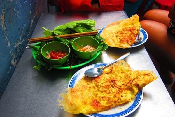 Ăn bánh xèo Đà Nẵng ở đâu ngon? Bánh xèo cô Mười