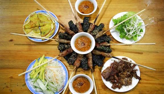 Bún thịt nướng Loan/ địa chỉ ăn bún thịt nướng ngon ở Đà Nẵng