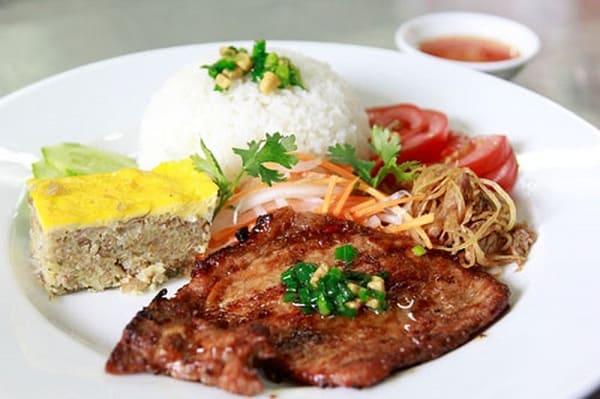 Cơm tấm Bi Thông/ địa chỉ ăn cơm tấm ngon ở Đà Nẵng