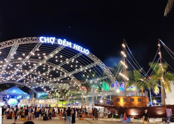 Review chợ đêm Helio Đà Nẵng chi tiết; Chợ đêm Helio Đà Nẵng ở đâu, giá vé, giờ mở cửa như thế nào?