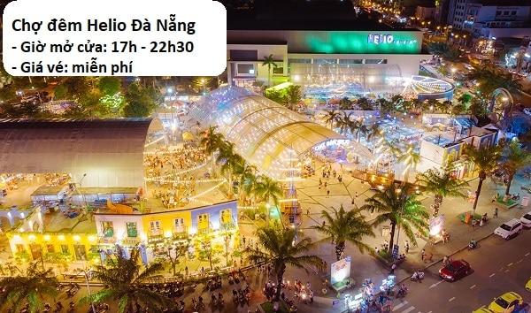 Review chợ đêm Helio Đà Nẵng về giá vé, giờ mở cửa. Chợ đêm Helio ở đâu, có gì chơi?