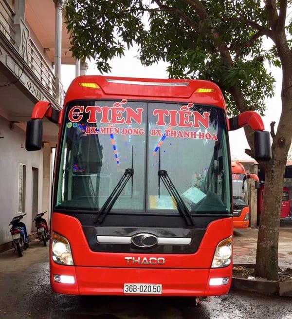 Top 10 hãng xe khách Sài Gòn Đà Nẵng tốt nhất. Xe khách Tiến Tiến Sài Gòn Đà Nẵng