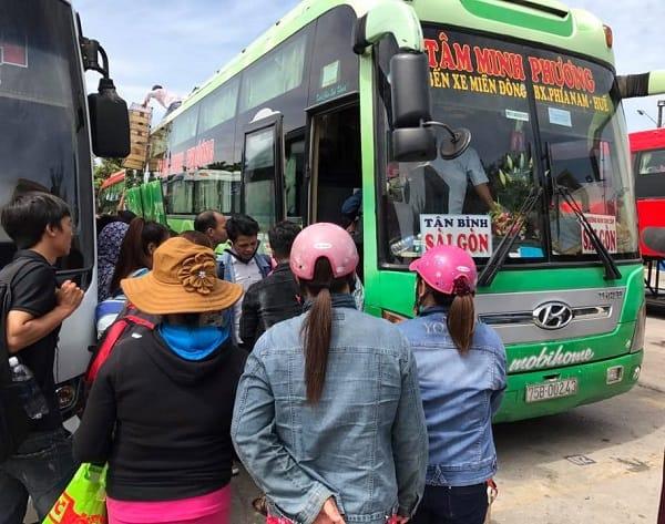 Xe khách từ TP Hồ Chí Minh đi Đà Nẵng. Danh sách các hãng xe khách Sài Gòn Đà Nẵng uy tín, giá rẻ. Xe khách Tâm Minh Phương