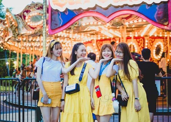 Công viên Châu Á Asia Park Đà Nẵng khuyến mại miễn phí vé cổng cho khách nữ dịp 20 - 10