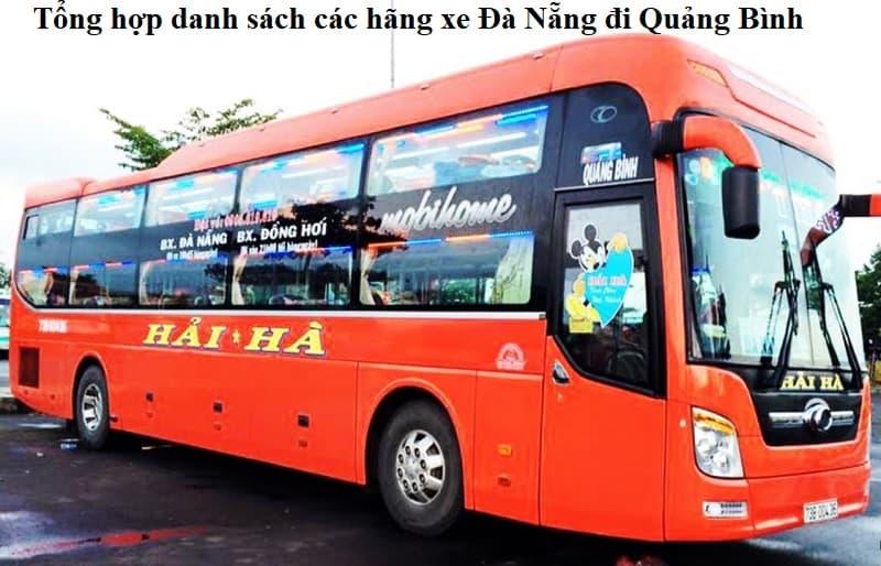 Bến xe Đà Nẵng đi Quảng Bình. Danh sách các hãng xe khách từ Đà Nẵng đi Quảng Bình