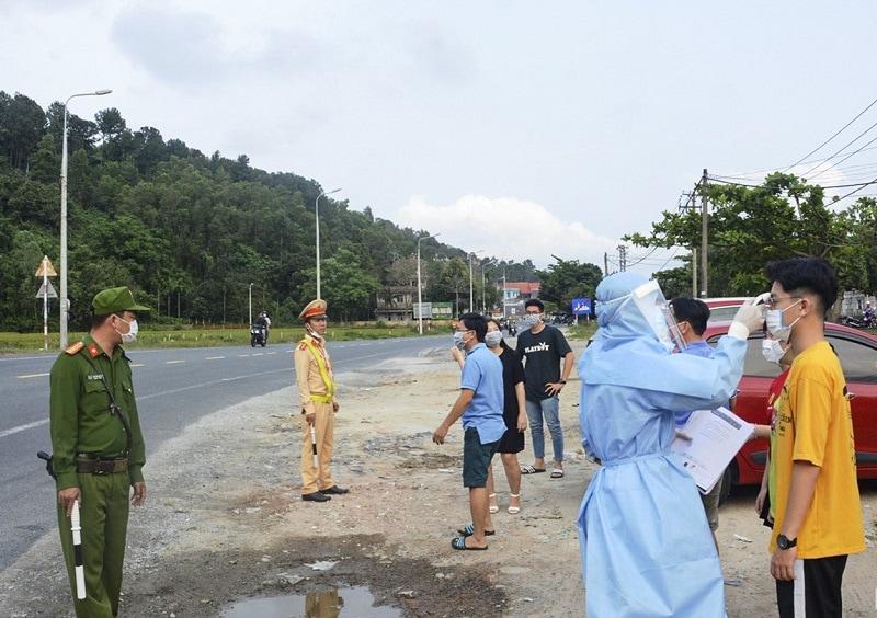 Đà Nẵng thiết lập 7 chốt chặn tại cửa ngõ ra vào thành phố từ ngày 15 - 03 - 2020