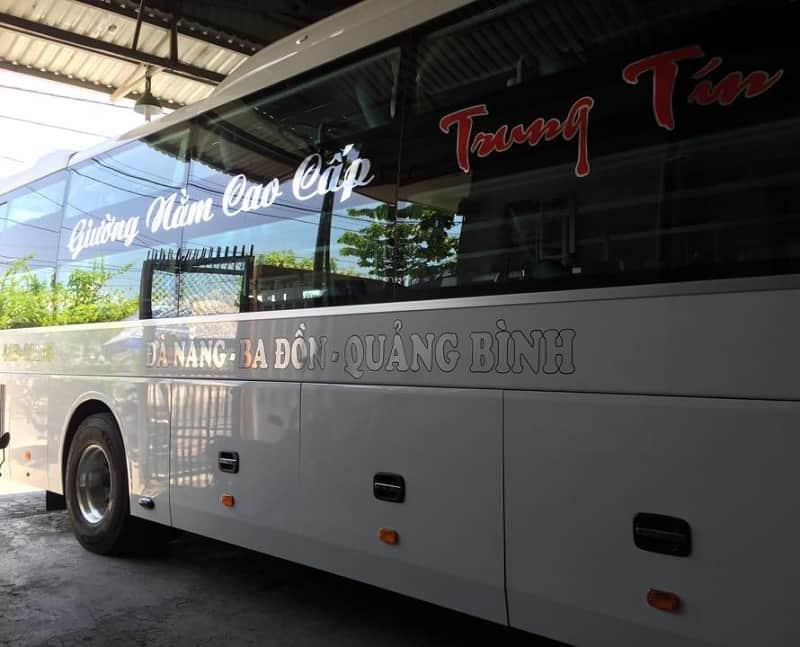 Danh sách các hãng xe khách đi Quảng Bình từ Đà Nẵng. Bến xe Đà Nẵng đi Quảng Bình