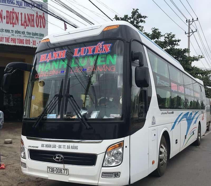Xe khách Đà Nẵng đi Quảng Bình kèm số điện thoại, giá vé. Bến xe Đà Nẵng đi Quảng Bình