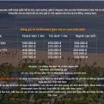 Bảng giá vé tham quan, vào cổng Vinwonders Nam Hội An chi tiết, cập nhật mới nhất