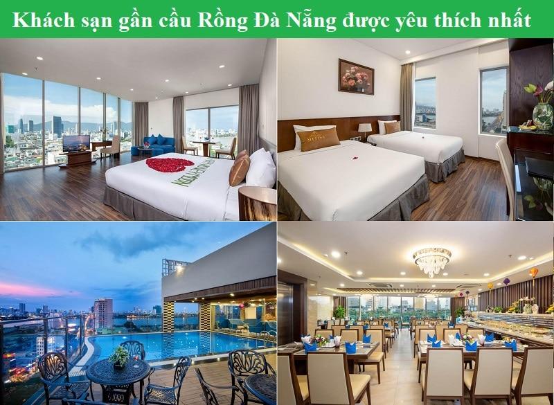 Gần cầu Rồng Đà Nẵng có khách sạn nào đẹp, tiện nghi, giá tốt? Khách sạn ở Đà Nẵng gần cầu Rồng