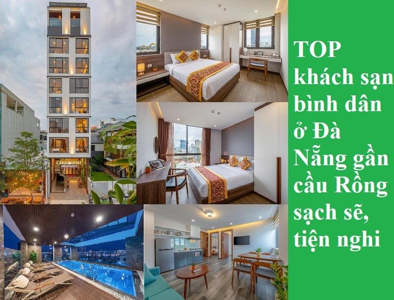 Khách sạn ở Đà Nẵng gần cầu Rồng giá bình dân. Gần cầu Rồng Đà Nẵng có khách sạn nào đẹp, giá tốt?