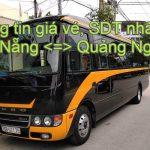 Thông tin hãng xe khách Đà Nẵng Quảng Ngãi kèm giá vé, số điện thoại. Nhà xe A Vương