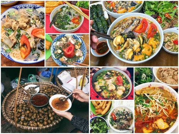 Top những quán bún ốc ngon nhất ở Hà Nội