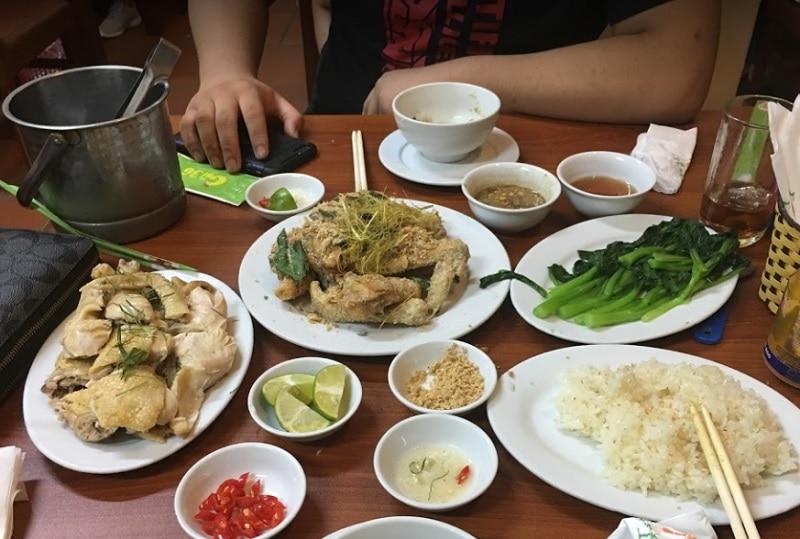 Quán ăn ngon Hà Đông. Các quán ăn ở Hà Đông. Quán Gà 36 Hà Đông