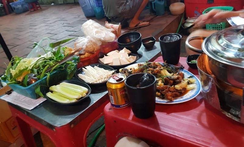 Quán ăn ngon Hà Đông. Quán ăn ở Hà Đông rẻ. Lẩu ếch 81 Văn Quán