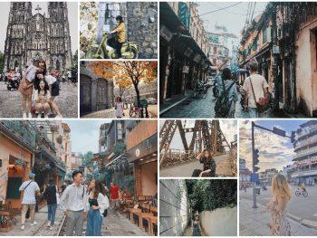 Địa điểm chụp ảnh đẹp ở Hà Nội miễn phí, nổi tiếng nhất