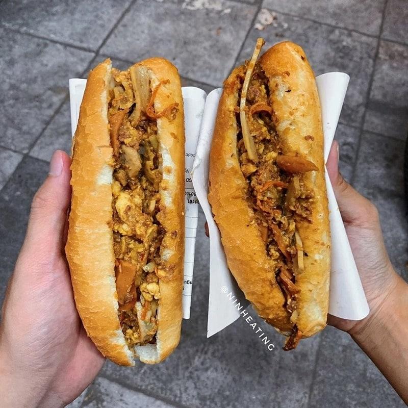 Bánh mì Dân Tổ Hà Nội - Quán bánh mì cực nổi tiếng ở Hà Nội