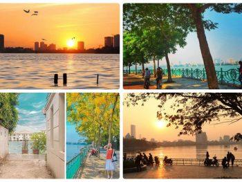Địa điểm đi chơi ở Hà Nội cho sinh viên, Hồ Tây