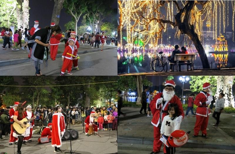Giáng sinh ở Hà Nội nên đi đâu? Nên đi đâu chơi Noel ở Hà Nội? Hồ Hoàn Kiếm
