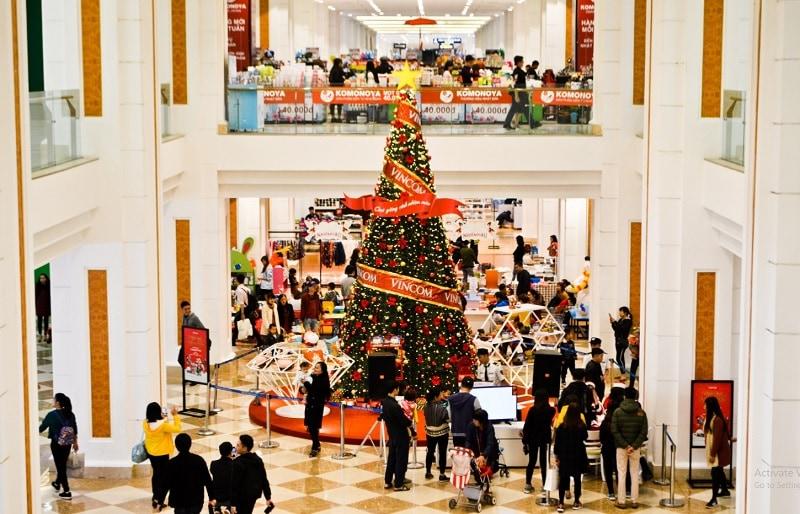 Giáng sinh ở Hà Nội nên đi đâu? Giáng sinh ở Hà Nội. Khu đô thị Royal City