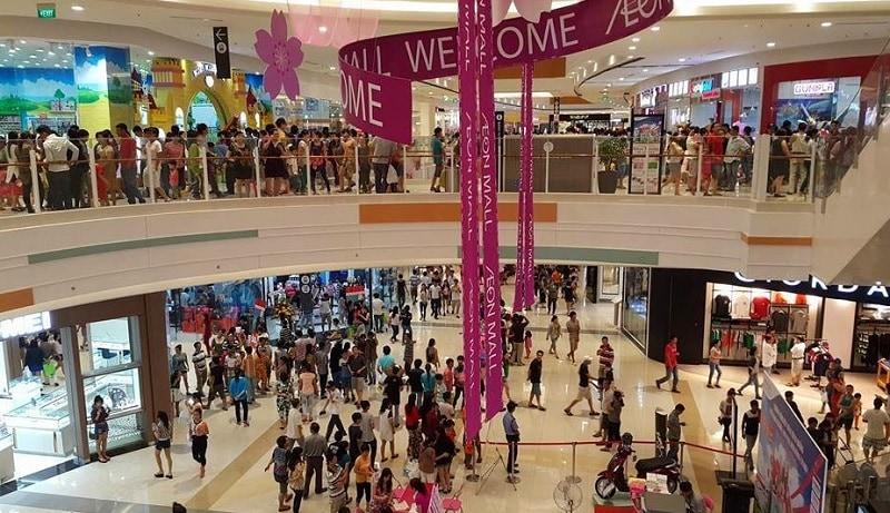 Giáng sinh ở Hà Nội nên đi đâu? Địa điểm mua sắm ở Hà Nội dịp Noel. TTTM Aeon Mall Hà Đông