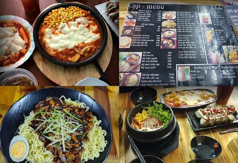 Các quán ăn ngon ở quận Đống Đa Hà Nội. Quán ăn Hàn Quốc ở Quận Đống Đa Hà Nội. Cạp Seafood