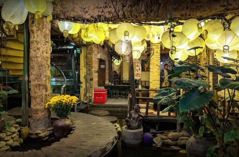 Các quán ăn ngon ở quận Đống Đa Hà Nội. Ao Quán, quán ăn đêm Hà Nội quận Đống Đa