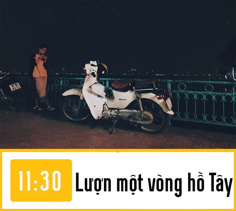 Đi đâu ở Hà Nội về đêm, ngắn Hồ Tây về đêm