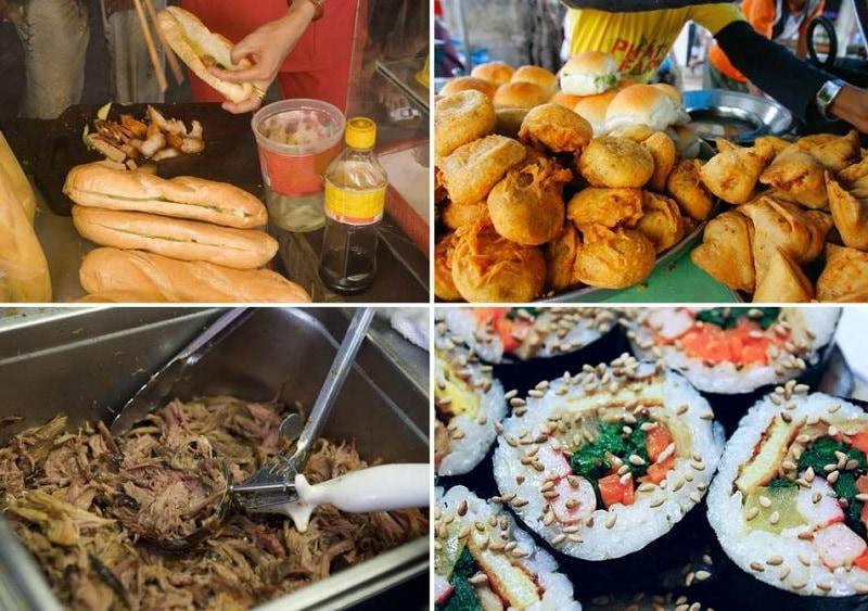 Địa điểm vui chơi buổi tối ở Hà Nội, phố ẩm thực Hàng Buồm