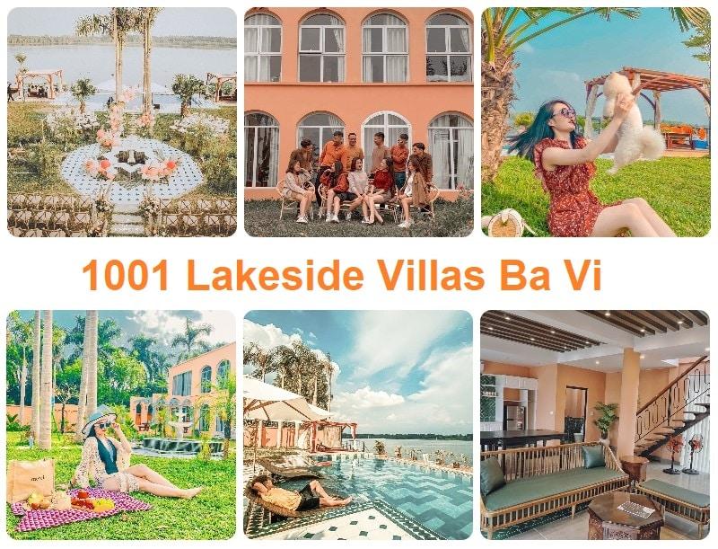 Các homestay đẹp ở ngoại thành Hà Nội,1001 Lakeside Villas Ba Vì