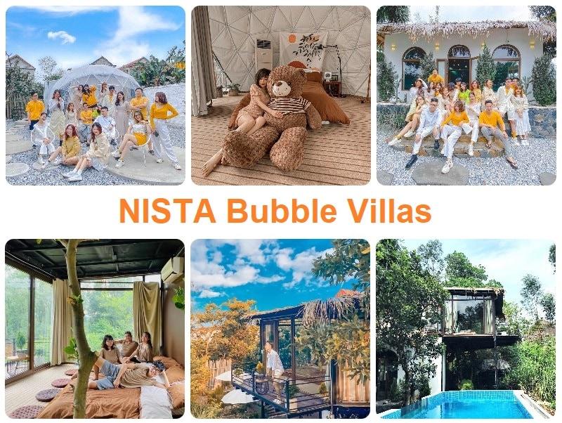 Homestay đẹp ở ngoại thành hà Nội, NISTA Bubble Villas