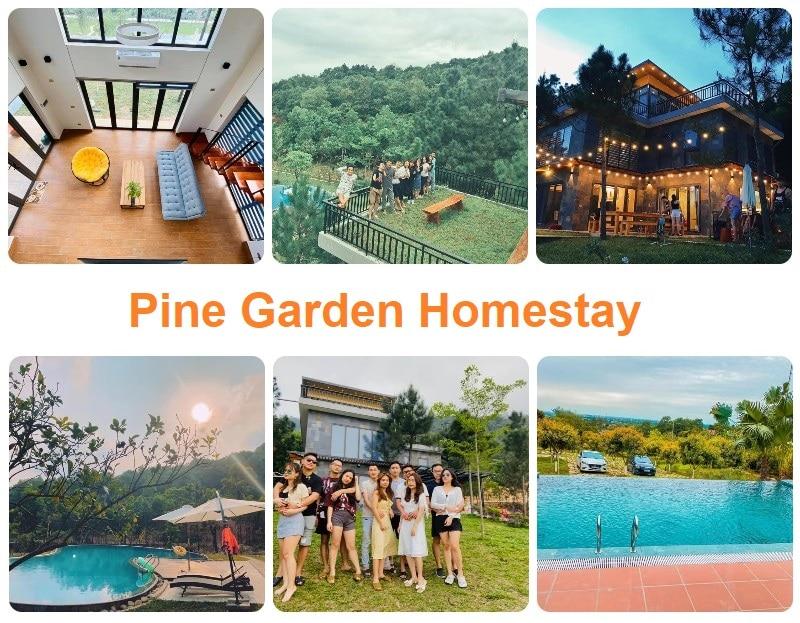 Homestay ngoại thành Hà Nội giá rẻ, Pine Garden Homestay