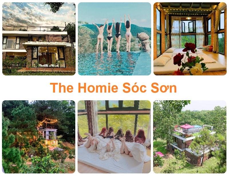 Homestay ngoại thành Hà Nội, The Homie Sóc Sơn