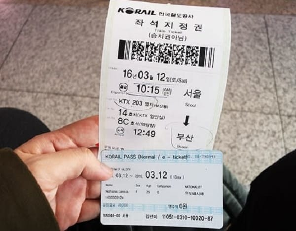 Cách di chuyển từ Seoul đến Busan. Đi lại từ Seoul đến Busan bằng tàu cao tốc